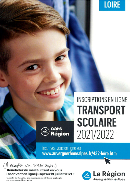 2021 TransportScolaire Flyer